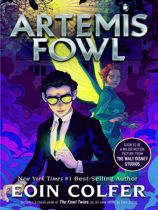 Title details for Artemis Fowl by Eoin Colfer - Wait list